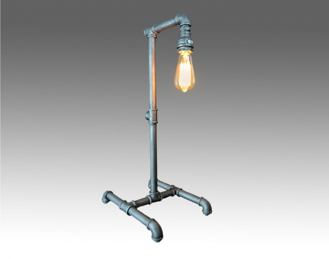 pipe desk lampa