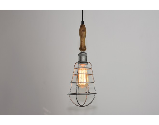 Levan Pendant Caged Bulb No.2